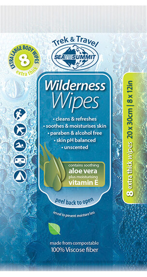 Sea to Summit Wilderness Wipes Extra Large